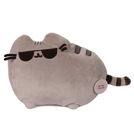 GUND ANIMATED DANCING PUSHEEN TOUCH ACTIVATED 9.5IN PLUSH (N
