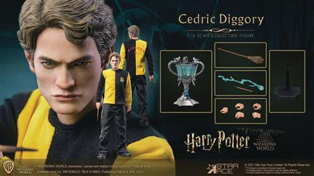 HARRY POTTER GOBLET OF FIRE CEDRIC DIGGORY 1/6 COLL AF (Net)