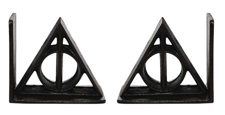HARRY POTTER WIZARDING WORLD DEATHLY HOLLOWS 5.25IN BOOKENDS
