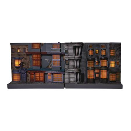 HARRY POTTER WIZARDING DIAGON ALLEY LIGHT-UP BOOKEND (C: 1-1