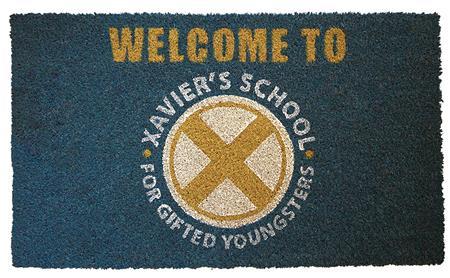 MARVEL X-MAN GIFTED SCHOOL DOORMAT (C: 1-1-2)