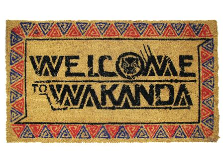 BLACK PANTHER WELCOME TO WAKANDA DOORMAT (C: 1-1-2)