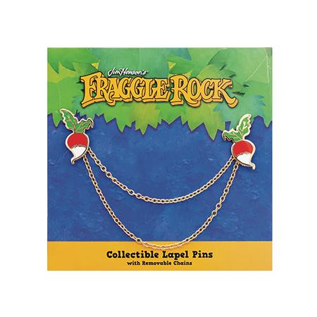 LITTLE SHOP OF PINS FRAGGLE ROCK RADISH PIN SET W/CHAIN (C: