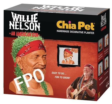 CHIA PET WILLIE NELSON (C: 1-1-2)