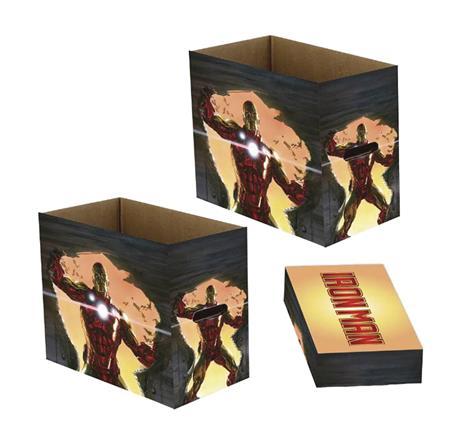 MARVEL INVINCIBLE IRON MAN 5PK SHORT COMIC STORAGE BOX (C: 1