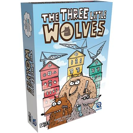 THREE LITTLE WOLVES CARD GAME (C: 0-1-2)