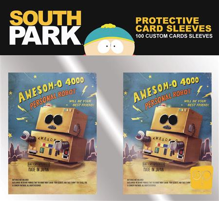 SOUTH PARK CARD SLEEVES PACK (100CT) (C: 0-1-2)