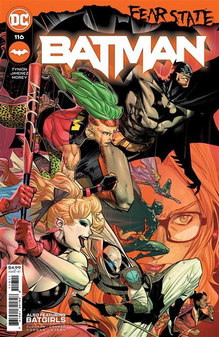 BATMAN #116 CVR A JORGE JIMENEZ (FEAR STATE)