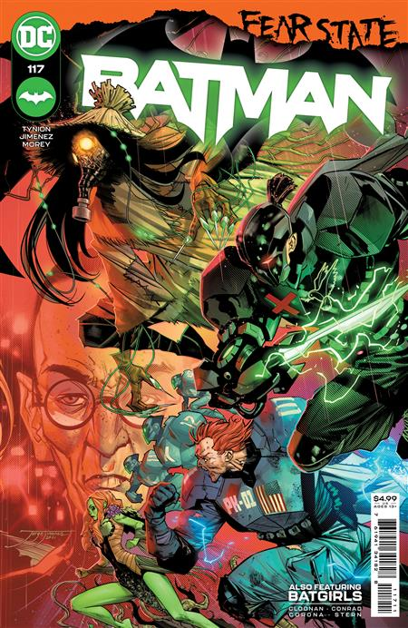 BATMAN #117 CVR A JORGE JIMENEZ (FEAR STATE)