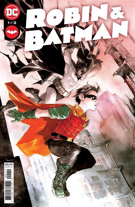 ROBIN & BATMAN #1 (OF 3) CVR A DUSTIN NGUYEN