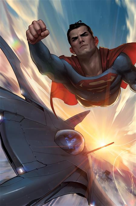BATMAN SUPERMAN AUTHORITY SPECIAL #1 (ONE SHOT) CVR B JEEHYUNG LEE CARD STOCK VAR