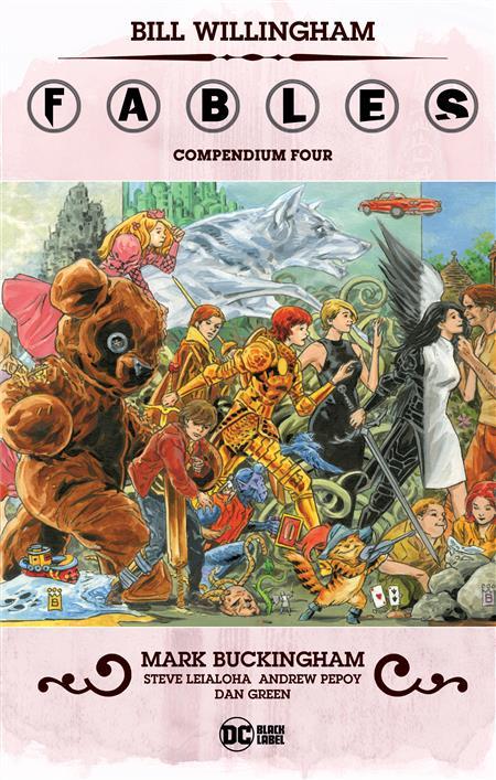 FABLES COMPENDIUM 4 TP (MR)
