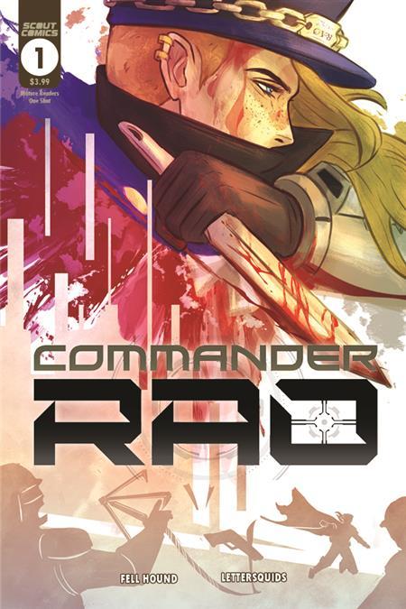 COMMANDER RAO #1 (ONE SHOT) CVR A FELL HOUND